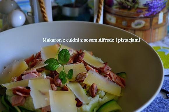 """Makaron"" z sosem Alfredo"