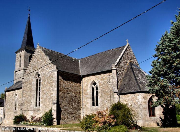Église St-Symphorien, à Aucaleuc.