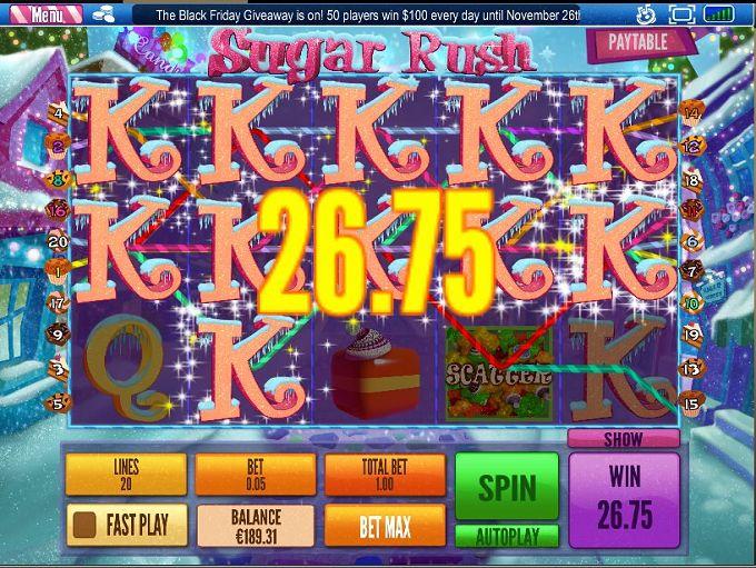 Grand Parker Casino and Sugar Rush