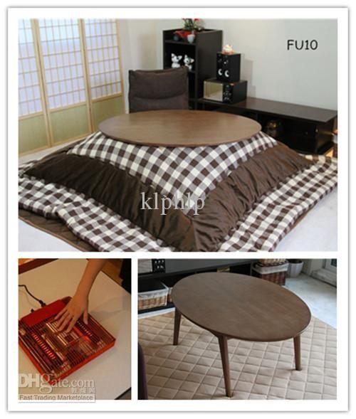 Wholesale Heated Table   Buy KT105 4 1 Modern Style Japanese Oval Kotatsu  Table