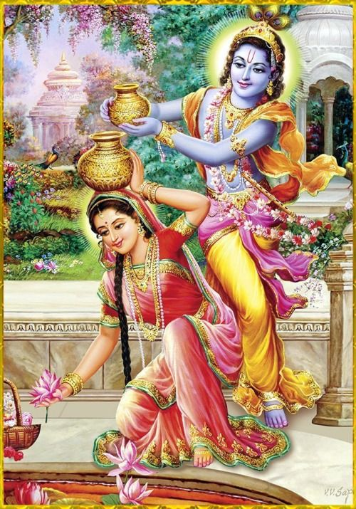 radha and krishna age difference in dating