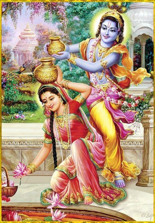 ✨ RADHA KRISHNA ✨Artist: V.V.Sagar
