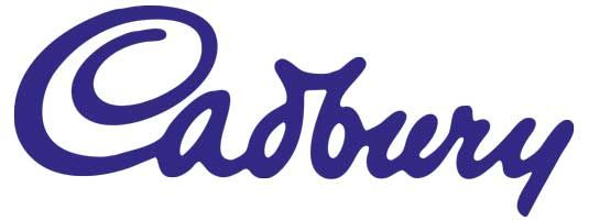 logo based on the signature of William Cadbury minor tweaks have been made to the logo but essentially its remained the same almost a century later.