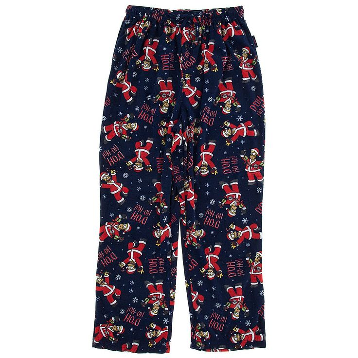 Technically these Simpsons Christmas fleece pajama pants are for guys, but when you feel how comfy they are, you might find yourself Grinching out and stealing them for yourself.  They are some of the best selling Simpsons Christmas fleece pajama pants.