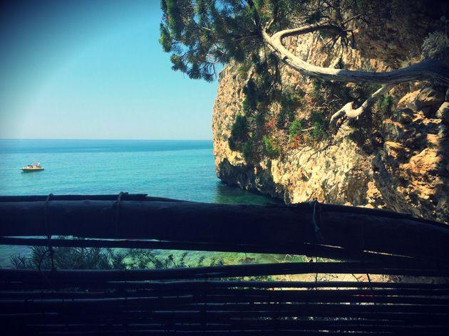 Spiaggetta del Prigioniero, Parco Nazionale del Circeo, Latina