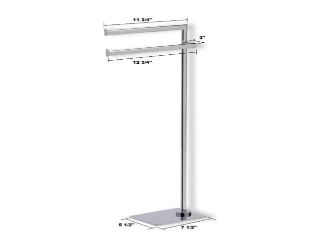 Then of the standing towel rack with extra storage for - Bathroom towel racks free standing ...