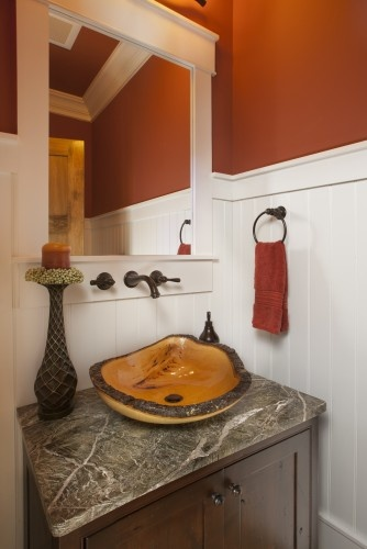 Powder Room Design Pictures Remodel Decor And Ideas Page  Wall Color