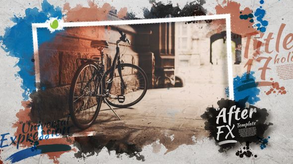 Watercolor Opener After Effects Template See It In Action