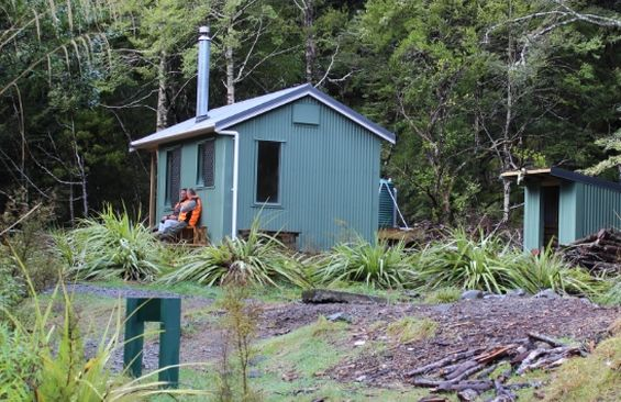 The new Maropea Forks Hut in the Ruahine Ranges is now available for use.