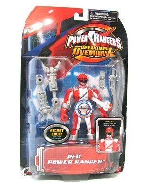 Power Ranger Operation Overdrive - Red Ranger