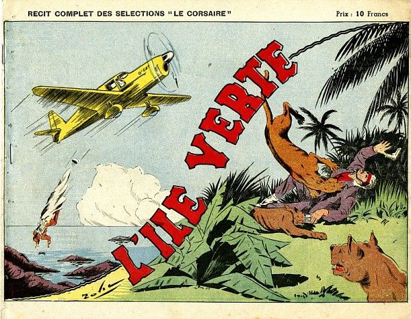 Zovie (dessin), L'île verte, 1945 /  Collections du Musée du Vivant - AgroParisTech