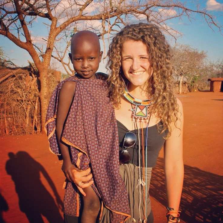 Georgia Leonard, Tanzania volunteer. #antipodeans_abroad