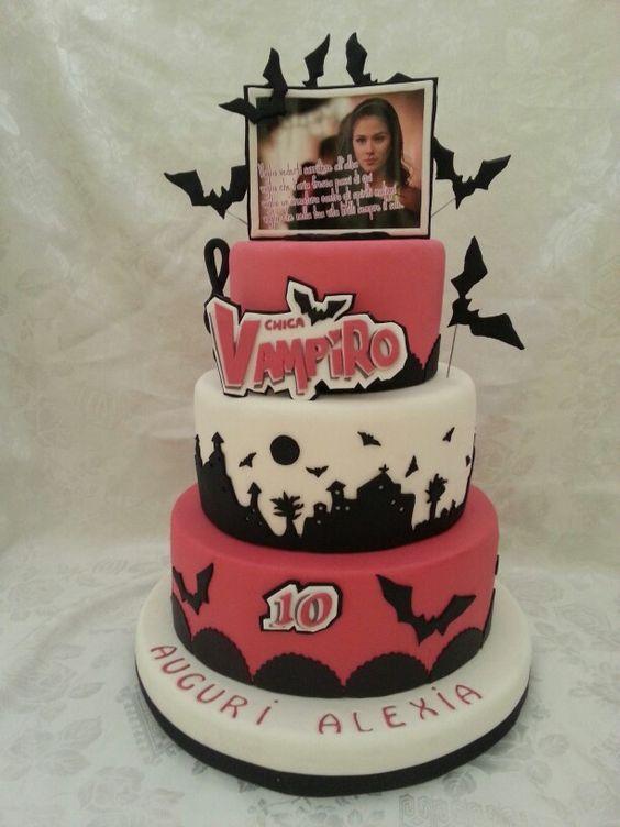 chica vampiro cake - Recherche Google