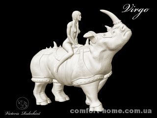 Боевой носорог знак зодиака Virgo (Дева) Victorio Rulechini Артикул: 23082209