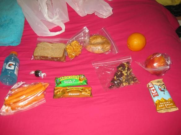 Snacks The best things to bring to an all day track meet