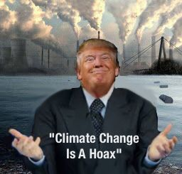 When you don't vote the world feels the impact. We will now be the only major country to ignore the science of our own destruction.