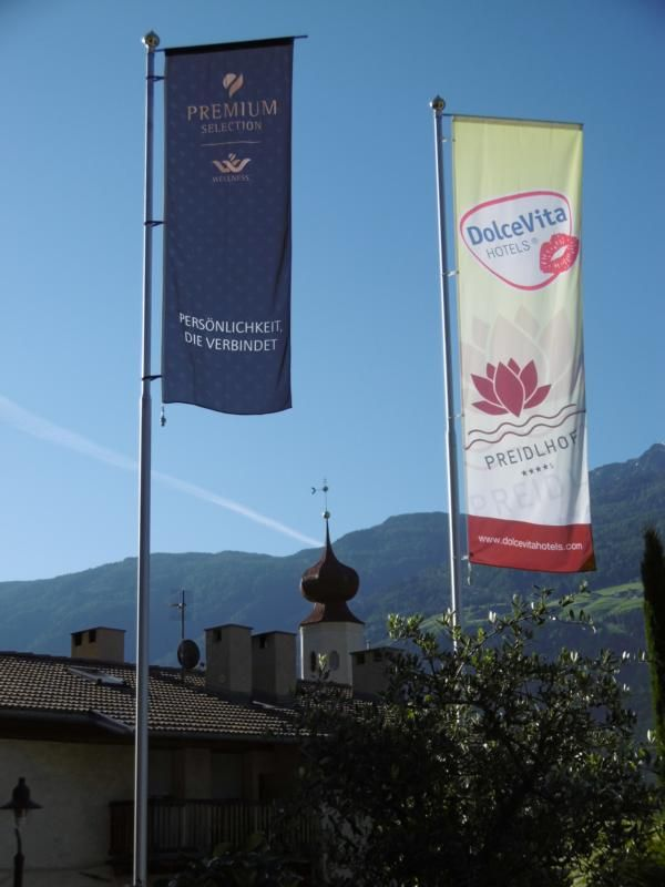 Die neue Flagge Premium Wellness Hotels http://preidlhof.it
