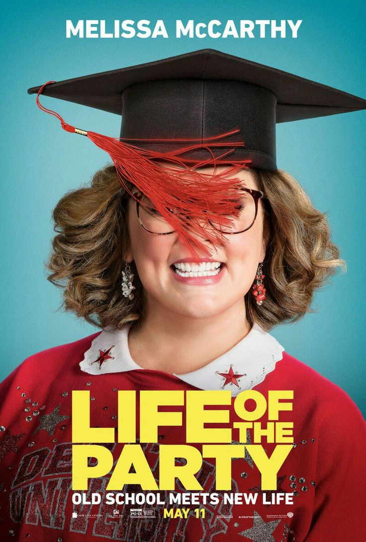Life of the Party movie poster Comedy Movie Posters & Artwork #comedy  #drama #