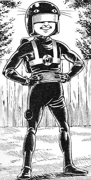 Billy the Cat  Mutant human Kid with superhuman abitys (Beano 1289 1967)