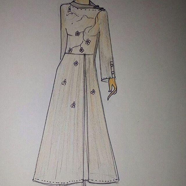 #sketches made by #designers at #tooshstudio ! #clientdiaries #festival #weddingdress #bridal #ladieswear #designerwear #love
