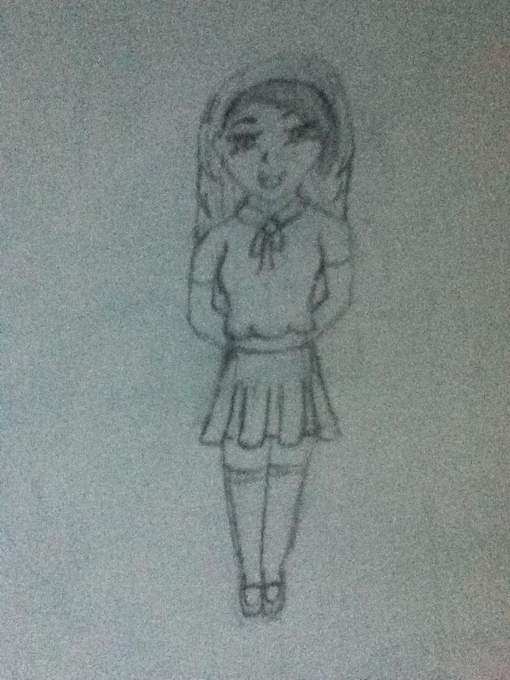 high school girl from Japan