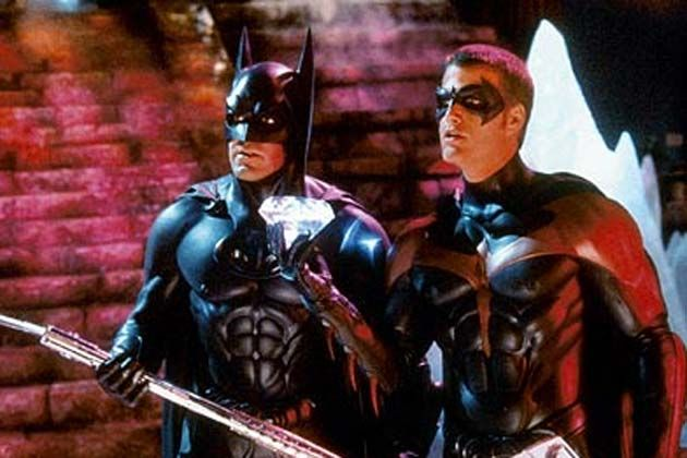 """Batman & Robin"".....How does one manage to destroy a series based on Batman?  Seems impossible, but Schumacher (director) and Mr. Freeze (not to mention Poison Ivy) did it."