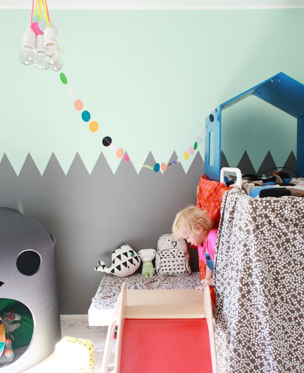 j'adore les coussins: Kids Bedrooms, Paintings Ideas, Boys Rooms, Wall Color, Boys Decor, Wall Paintings, Eclectic Kids Rooms, Baby Rooms, Paintings Color