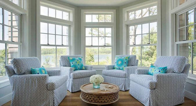 Summer is here and what better way to greet the season than by refreshing your home to reflect the world outside? Think light and easy with washable cotton slipcovers in ocean-inspired blues and fun printed pillows.  #parkplaceontario