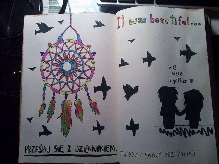 Podesłał Tomasz Jarosz #zniszcztendziennikwszedzie #zniszcztendziennik #kerismith #wreckthisjournal #book #ksiazka #KreatywnaDestrukcja #DIY