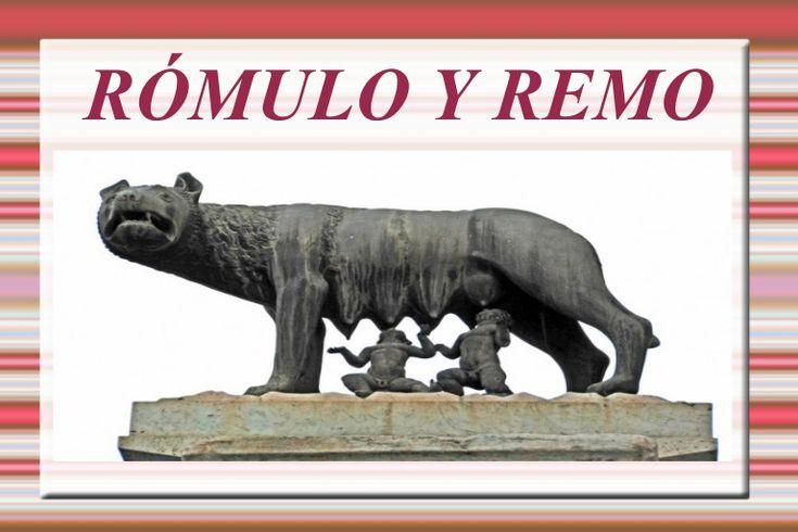 Rómulo y Remo, fundadores de Roma