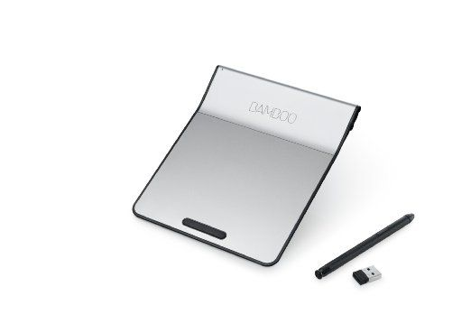 Wacom Wireless Bamboo Touch-Pad with Digital Stylus (CTH300K)