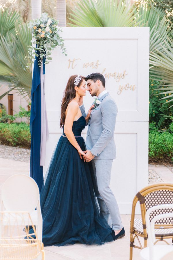 Dubai Wedding Inspiration with Blue and Green - photo by Liz JvR Photography http://ruffledblog.com/dubai-wedding-inspiration-with-blue-and-green | Ruffled