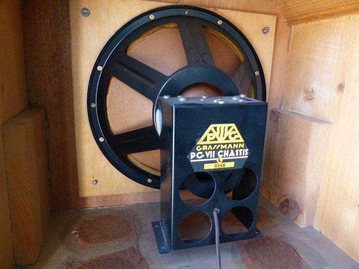 Grassmann-Helios-Lautsprecher VII PVC Field Coil Speaker > Gigant Klangfilm in Sammeln & Seltenes, Technik & Geräte, Funk- & Phonotechnik | eBay
