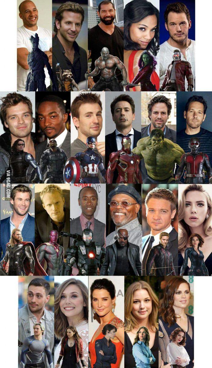 мстители герои имена и фото бампер почти отличим
