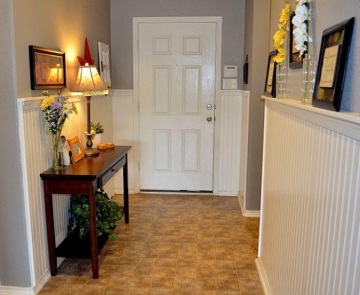 Entry Hallway Wainscoting Beadboard My Design