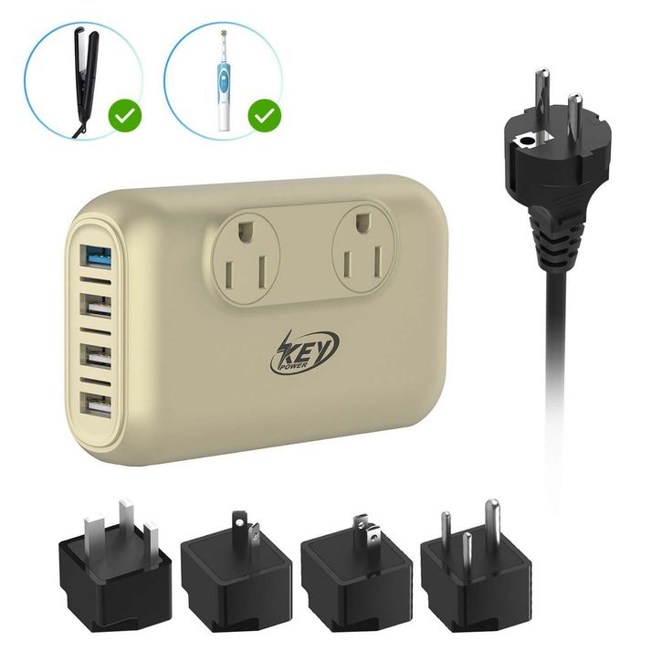 200w Step Down Power Adapter Voltage Converter For 110v Products In 220v Country Ideas Of T In 2020 International Travel Adapter Travel Adapter Travel Adapter Plugs