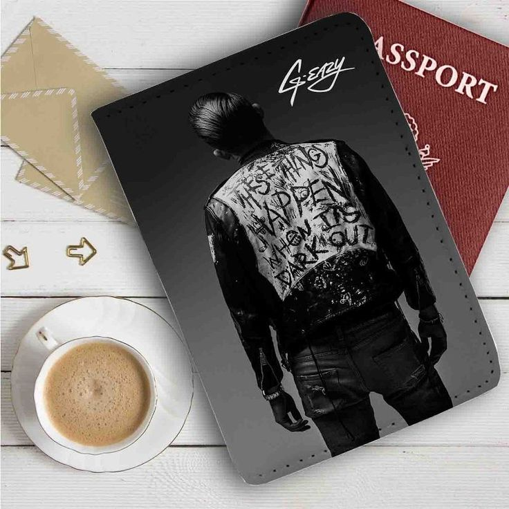 G Eazy Leather Passport Wallet Case Cover