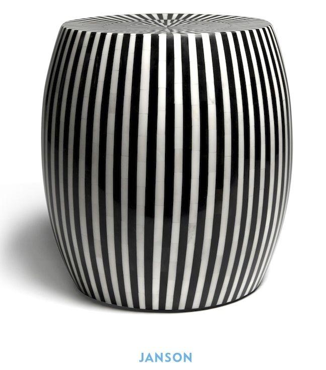 Ceramic Garden Stool | Janson
