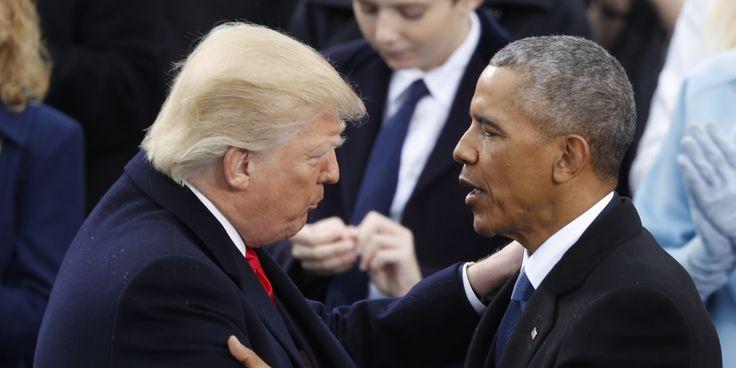 Trump intensifie ses attaques contre son prédécesseur Barack Obama