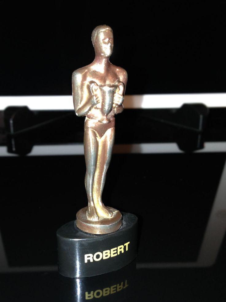 And the winner is... Comprado en MGM hace 15 años.