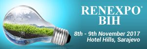RENEXPO® BiH: The biggest trade fair with conferences about renewable energy in Sarajevo   4th international trade fair and conferences RENEXPO® BiH will take place in the congress center Hotell Hills in Sarajevo, on 8th and 9th of November 2017.   #ESCO #Investime #Lorenc Gordani #Solar #Trading