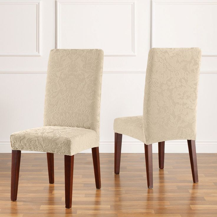 17 Best ideas about Dining Chair Slipcovers on Pinterest