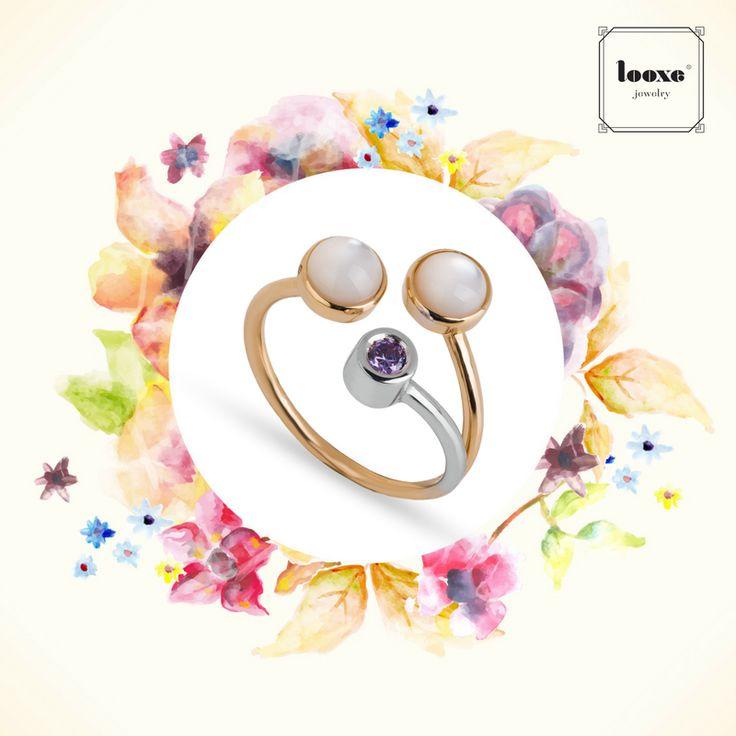 A ring that looks good with all casual looks this Spring season! // Um anel que fica bem com todos os looks casuais nesta estação de Primavera!  #looxe #looxejewelry #ring #looks #spring #moda #anellooxe  ANL5118