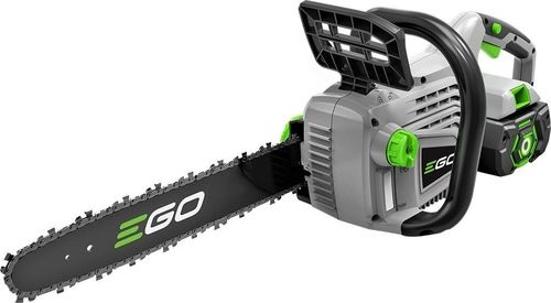 Want to cut a tree; an electric chainsaw is a perfect  tool..Extremely Safe and Reliable; EGO CS1403 56V