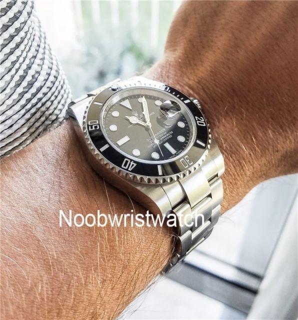 Submariner Atch Noob V9 904 Steel Rolex Submariner 11610 Ceramic Bezel 40mm Mens Watch Rolex Watches For Men Rolex Datejust