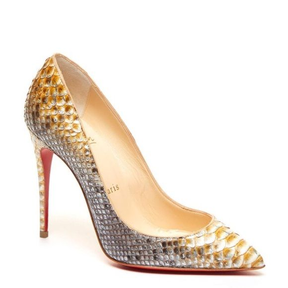 cheap christian louis vuitton shoes - Christian Louboutin Pigalle Python Heels SOLD OUTNWT | Python, Red ...