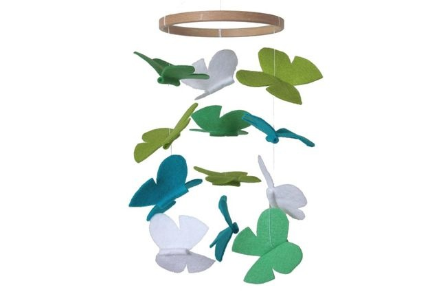 Butterfly Baby Mobile - Spring Green £30.00