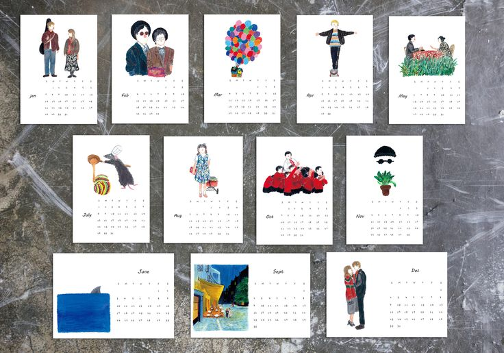 Excited to share the latest addition to my #etsy shop: 2018 Movie Calendar, A5/4x6 size, 2018 desk calendar ,Christmas Gift, Movie prints, 2018 calendar printable ,Film poster,Calendar 2018 #art #print #digital #rainbow #wallcalender #moviecalendar #holidaygift #giftforher