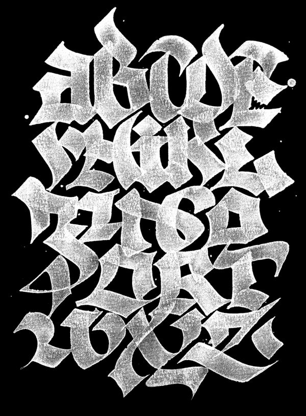 ABC-BOOK on Typography Served