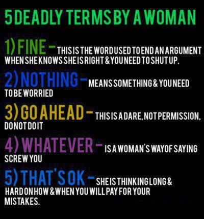 These are pretty accurate definitions guys!